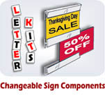 Changeable Sign Components